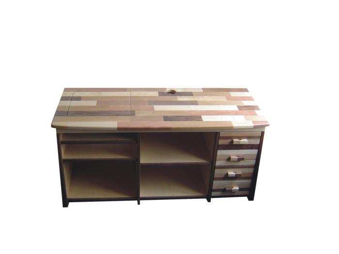 TV-kast, diverse houtsoorten