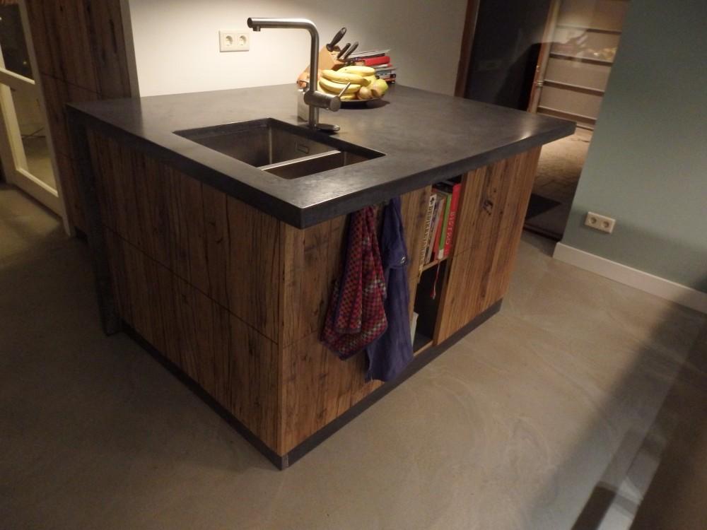 keuken, wagonplanken