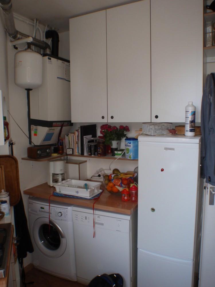keuken van wit HPL