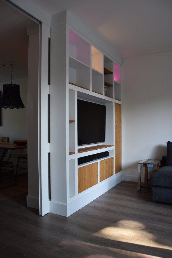 kamer-en-suite, bamboe en mdf